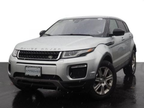 Certified Pre-Owned 2017 Land Rover Range Rover Evoque SE Premium Four-Wheel Drive with Locking Differential 4 Door SUV